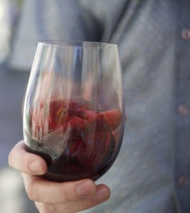 swirling red wine in glass 02