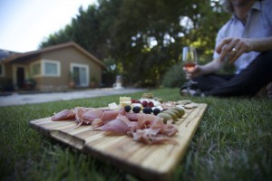 Picnic with charcuterie board_smaller